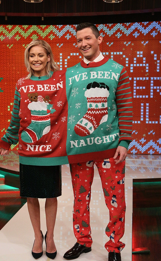 Kelly Ripa, Richard Curtis, Christmas 2016