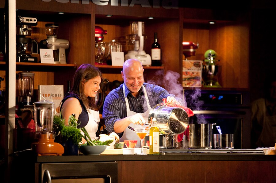 Tom Colicchio, Gail Simmons
