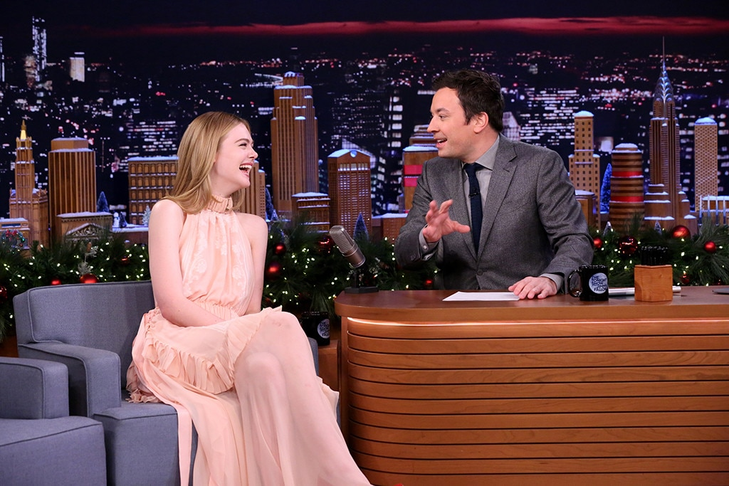 Elle Fanning, The Tonight Show