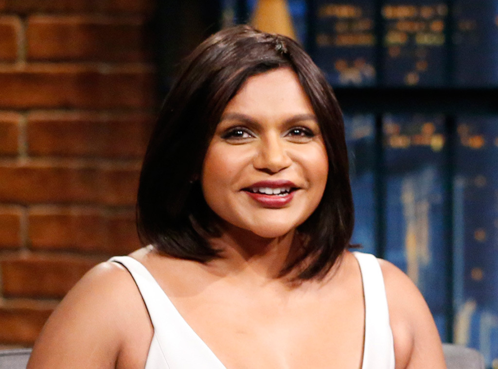 Mindy Kaling, Seth Meyers, Late Night