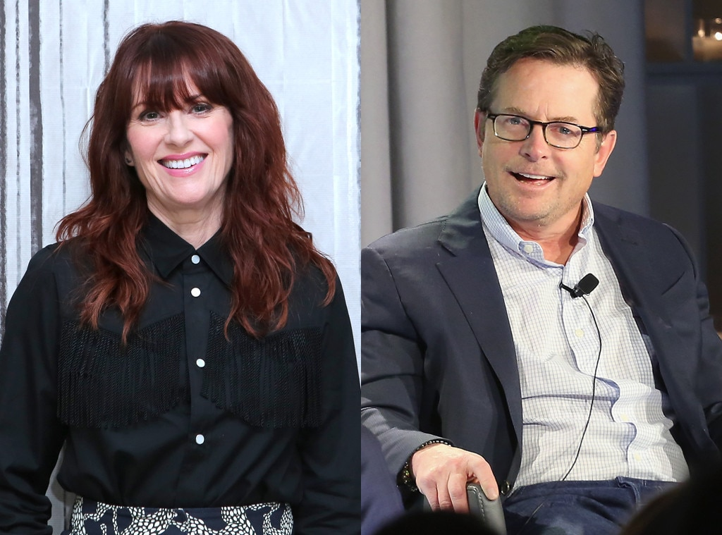 Megan Mullally, Michael J. Fox
