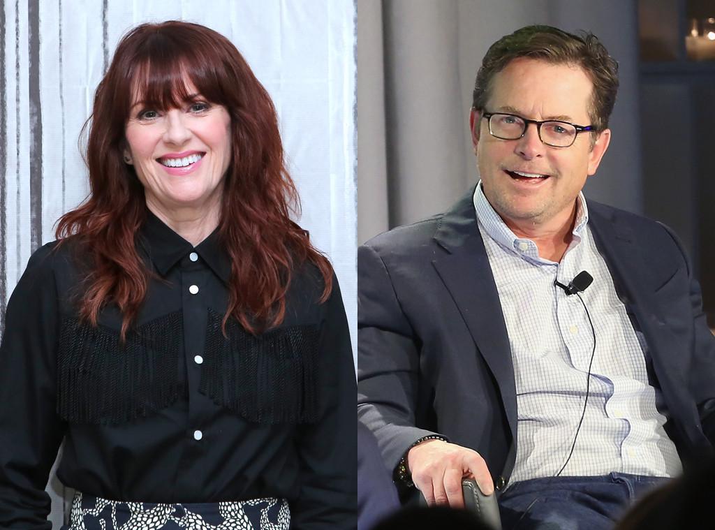 Megan Mullally, Michael J. Fox