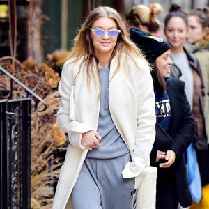 ESC: Gigi Hadid, Coat