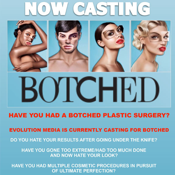 Botched Casting Flyer