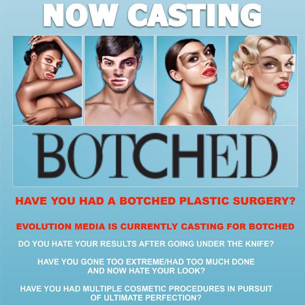 Botched Casting Flyer