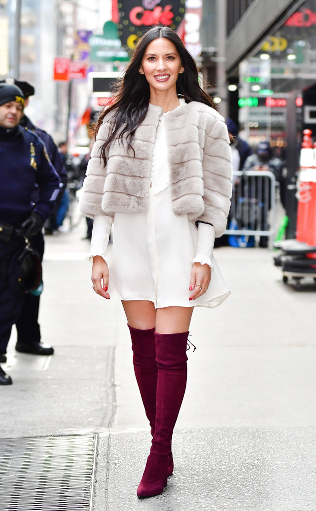 ESC: Holiday Shoes, Olivia Munn