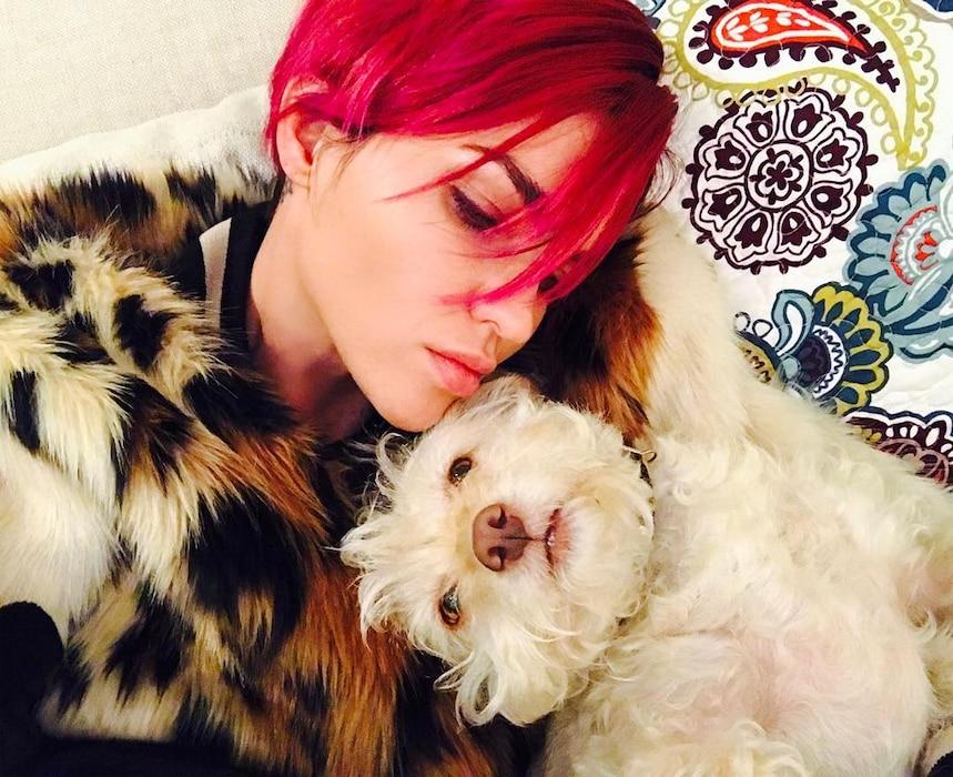 Ruby Rose, Pink Hair