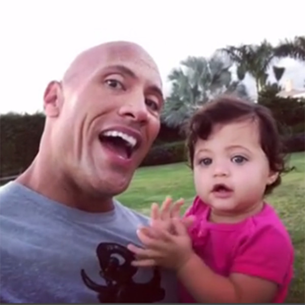 Dwayne Johnson Sings to Daughter Jasmine on Her 1st Birthday in Sweet Video: She's Already Clapping