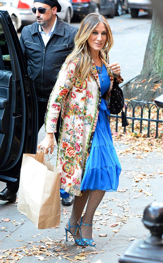 Celebs Holiday Shopping, Sarah Jessica Parker