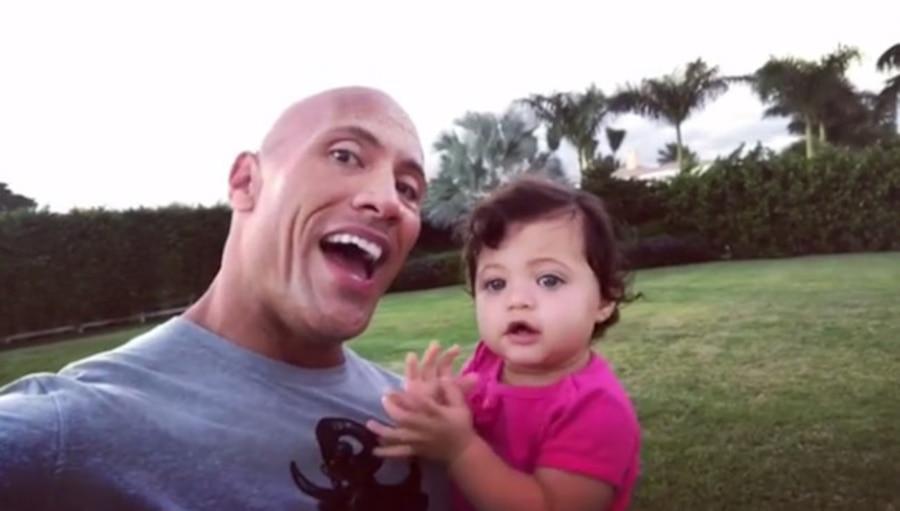 Dwayne Johnson, Daughter Jasmine
