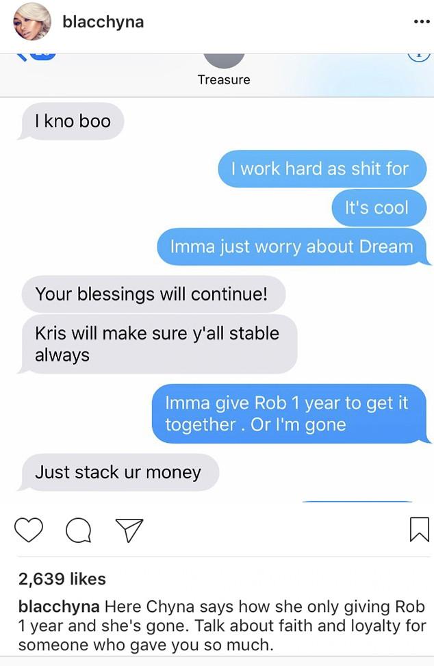 Blac Chyna, Hacked, Instagram