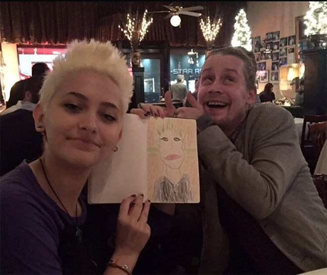 Macaulay Culkin, Paris Jackson
