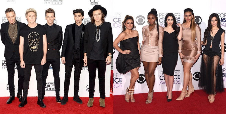 Fifth Harmony, One Direction