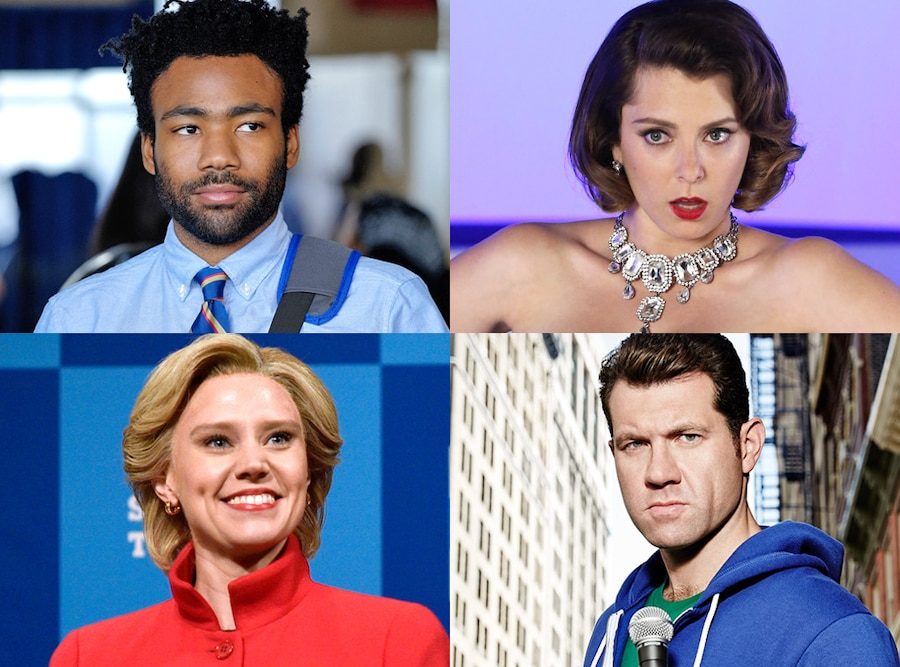Billy Eichner, Donald Glover, Kate McKinnon,