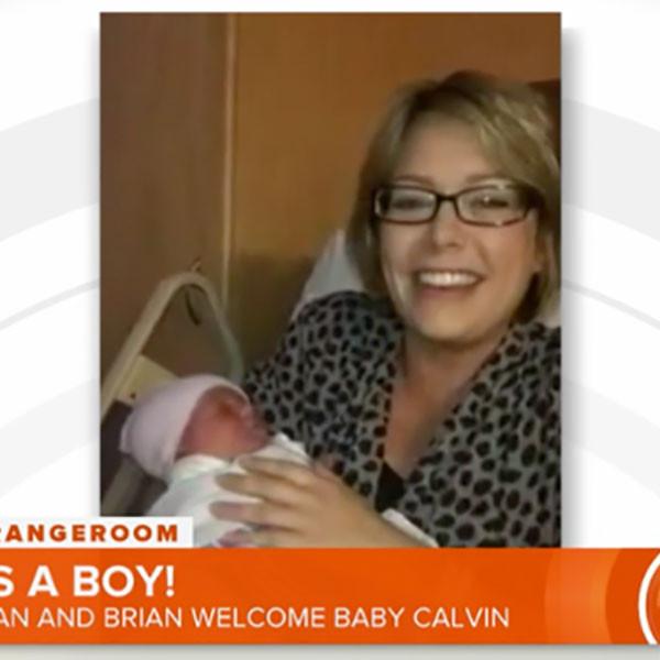 Dylan Dreyer, Today, Childbirth, Calvin, Baby