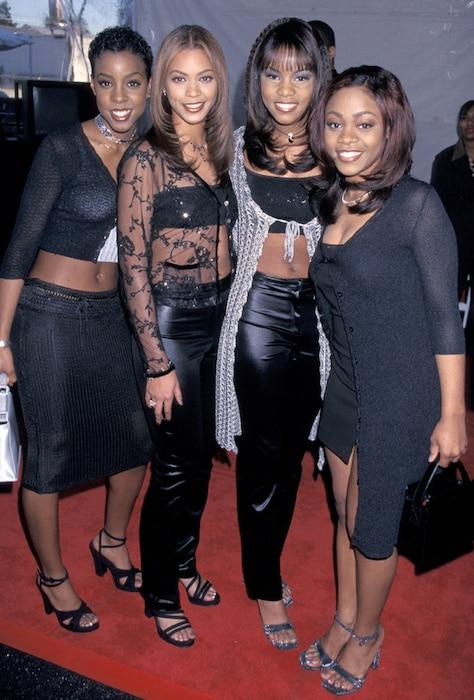 Destinys Child, Kelly Rowland, Beyonce Knowles, LeToya Luckett, LaTavia Robertson