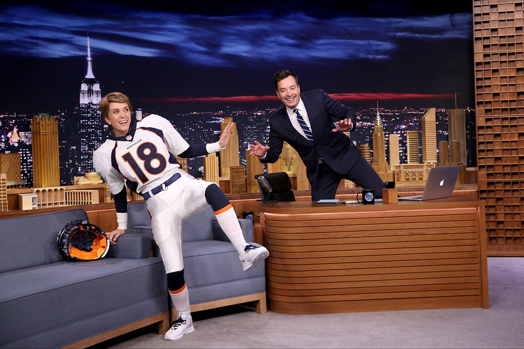 Kristen Wiig, Jimmy Fallon