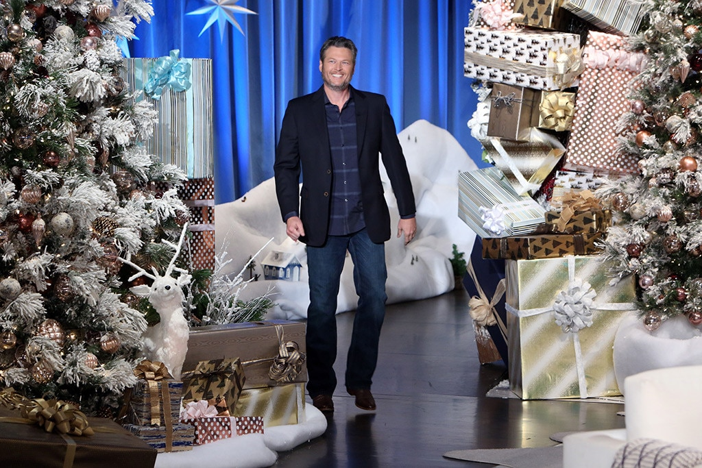 Blake Shelton, The Ellen DeGeneres Show