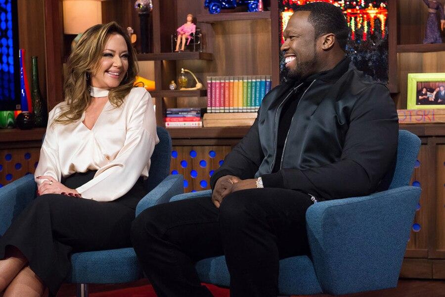 Leah Remini, 50 Cent, Watch What Happens Live