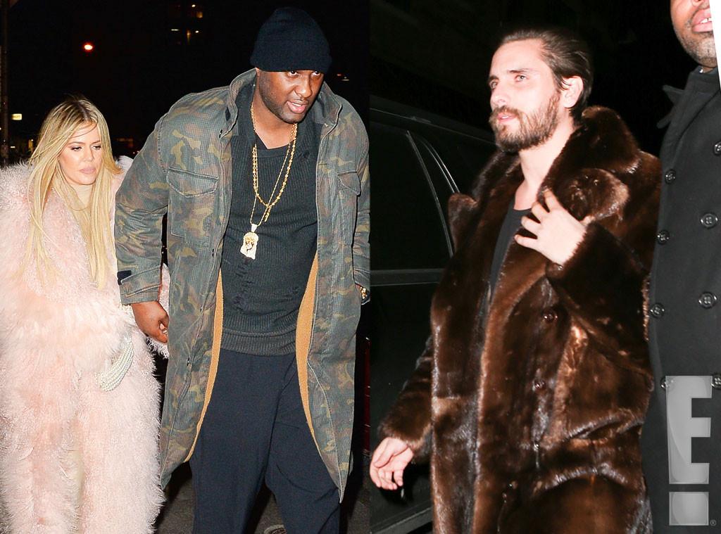 Khloe Kardashian, Lamar Odom, Scott Disick
