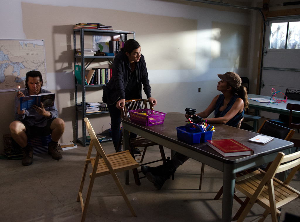 Josh McDermitt, Alanna Masterson, Christian Serratos, The Walking Dead