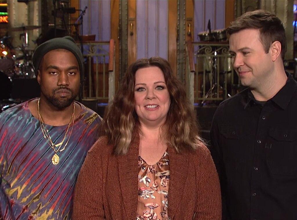 Melissa McCarthy, Kanye West