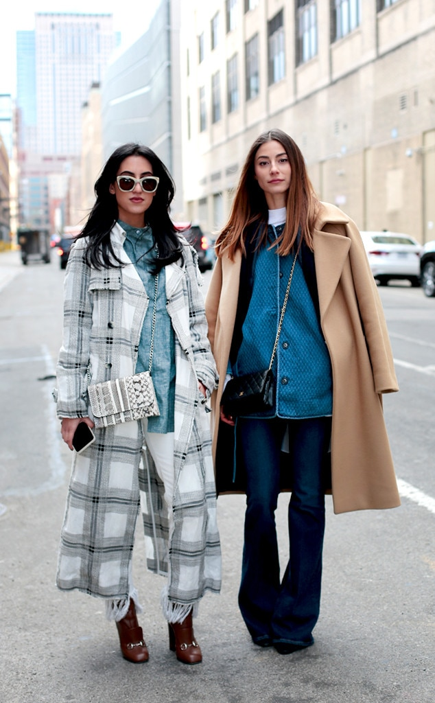 Dynamic Duo From Street Style At New York Fashion Week Fall 2016 E News