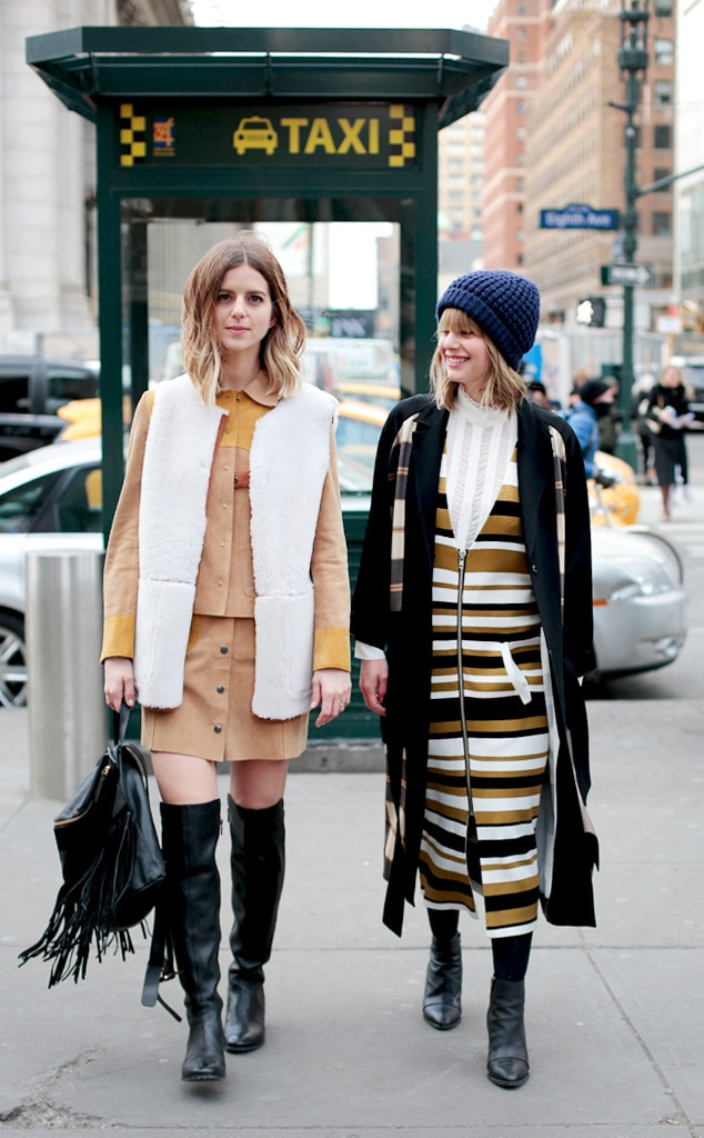 Double Trouble From Street Style At New York Fashion Week