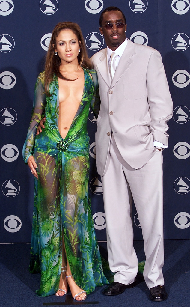 Jennifer Lopez, Sean Diddy Combs, Grammy Couples