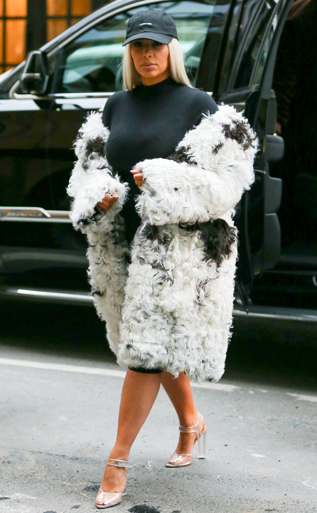 Kim Kardashian, NYFW, New York Fashion Week Star Sightings
