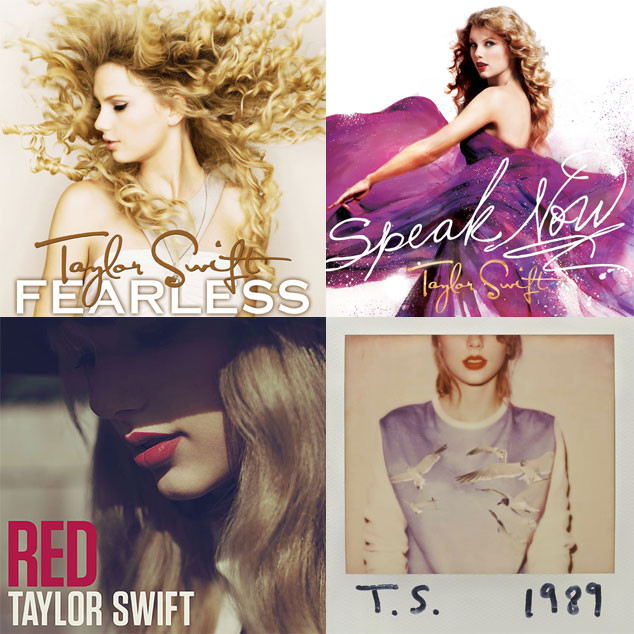 Taylor Swift, Albums