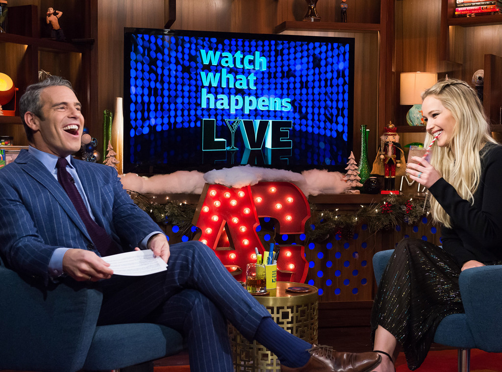 Jennifer Lawrence, Watch What Happens Live, Andy Cohen