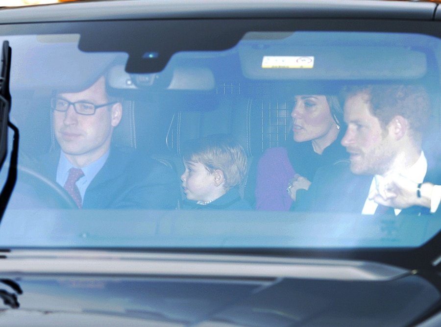 Prince William, Kate Middleton, Prince Harry, Prince George