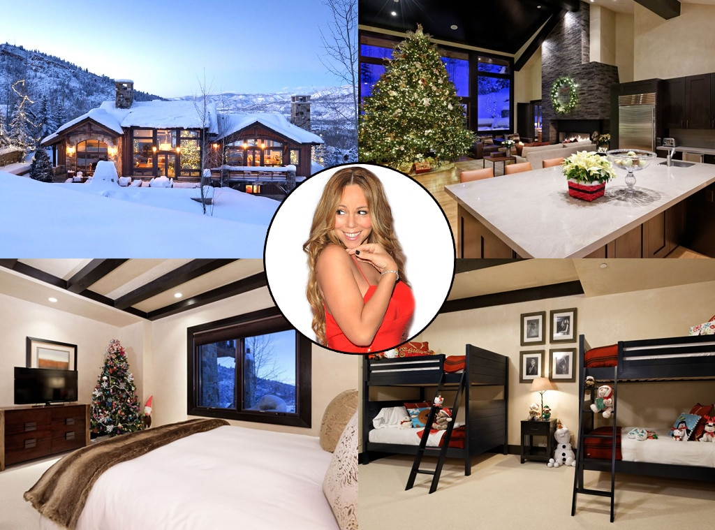 Mariah Carey, Airbnb Christmas Rental