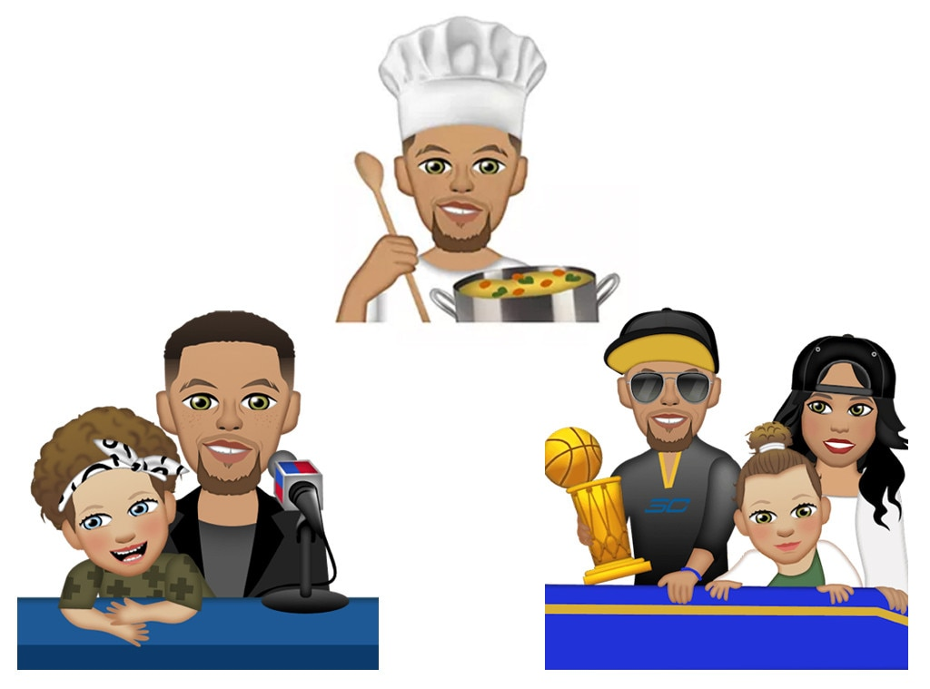 Best Celebrity Emojis, Stephen Curry