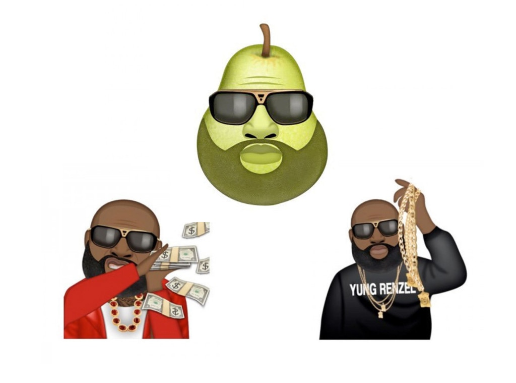 Best Celebrity Emojis, Rick Ross