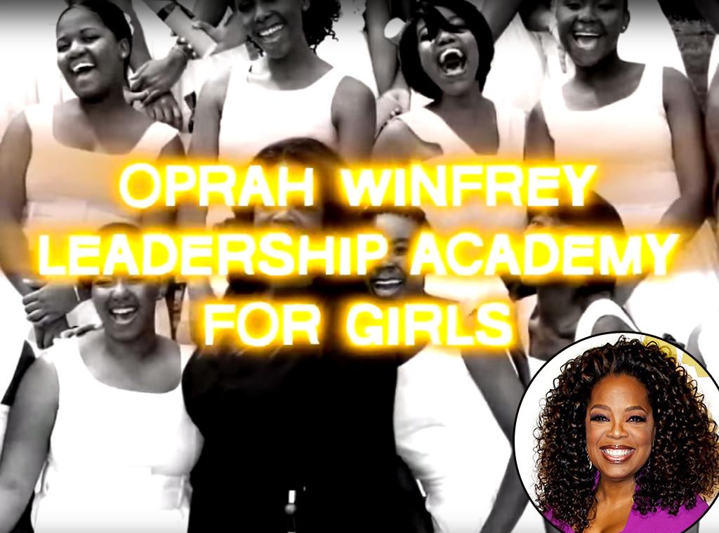 Oprah, Students