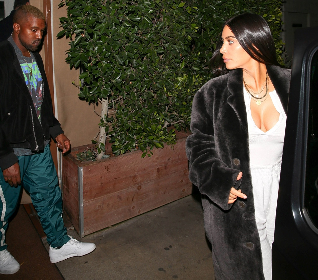 Kim Kardashian And Kanye West Seen Together For The First Time In Months