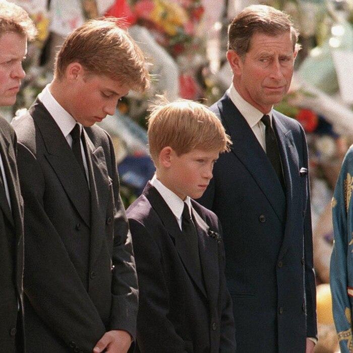 Prince Harry, Princess Diana Funeral