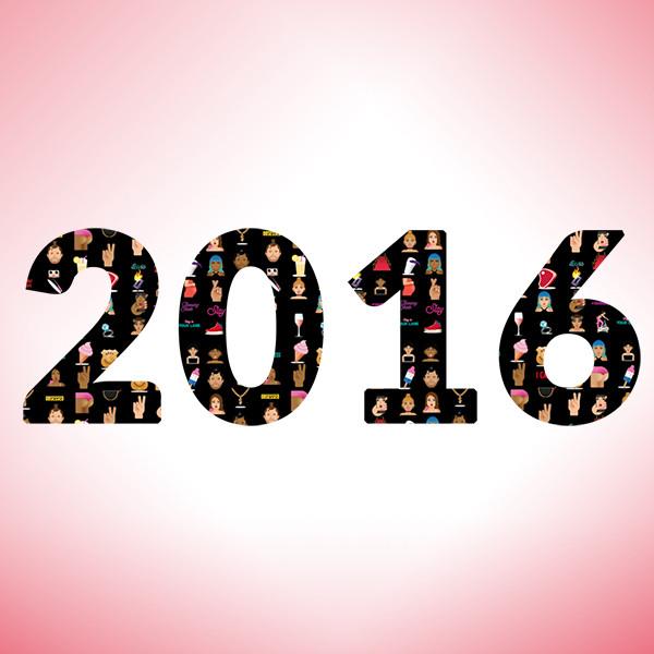 2016 as Told by E!ojis