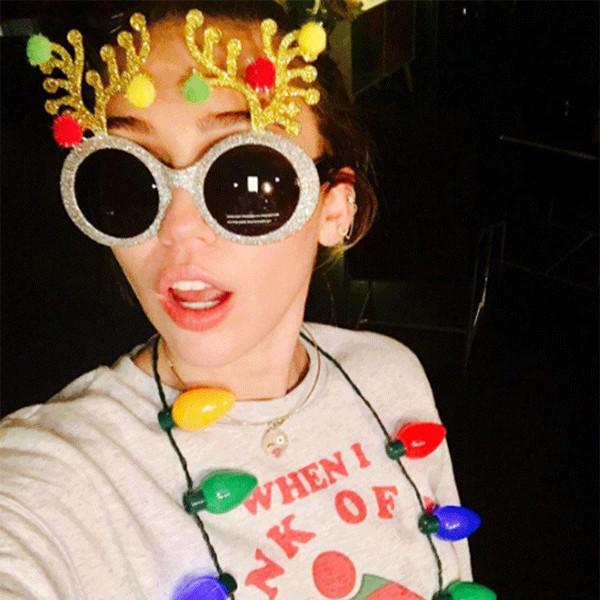 Miley Cyrus, Christmas 2016