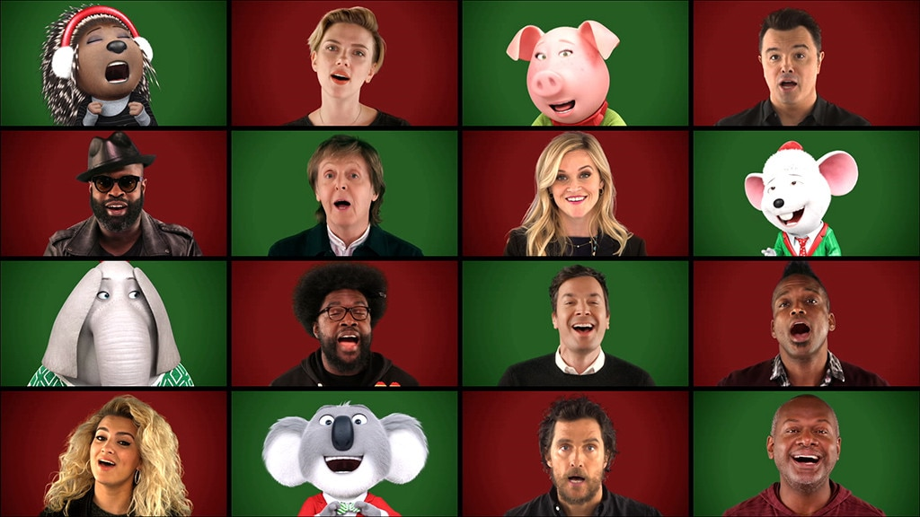Jimmy Fallon, Paul McCartney, Reese Witherspoon & 'Sing' Cast Perform 'Wonderful Christmastime'