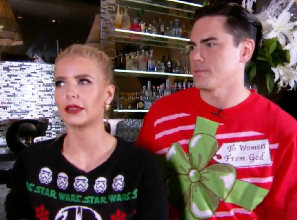 Complete Your Holidays With Festive AF New Cocktails From ... Tom Sandoval Ariana