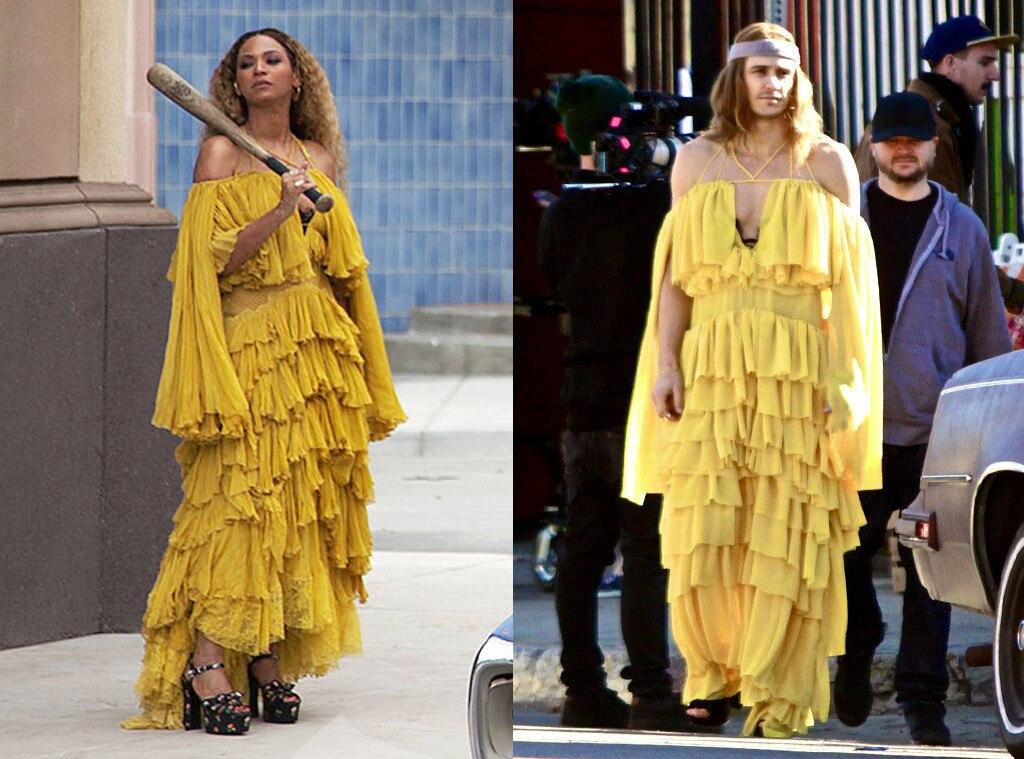Beyonce, James Franco