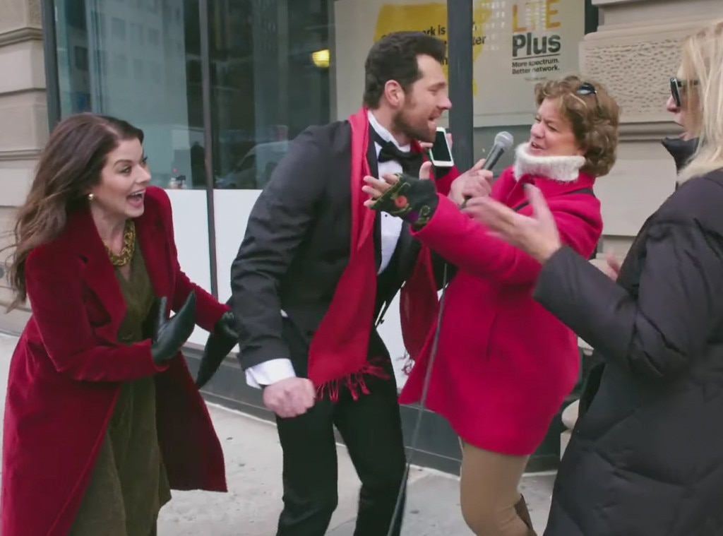 Billy on the Street, Debra Messing, Billy Eichner