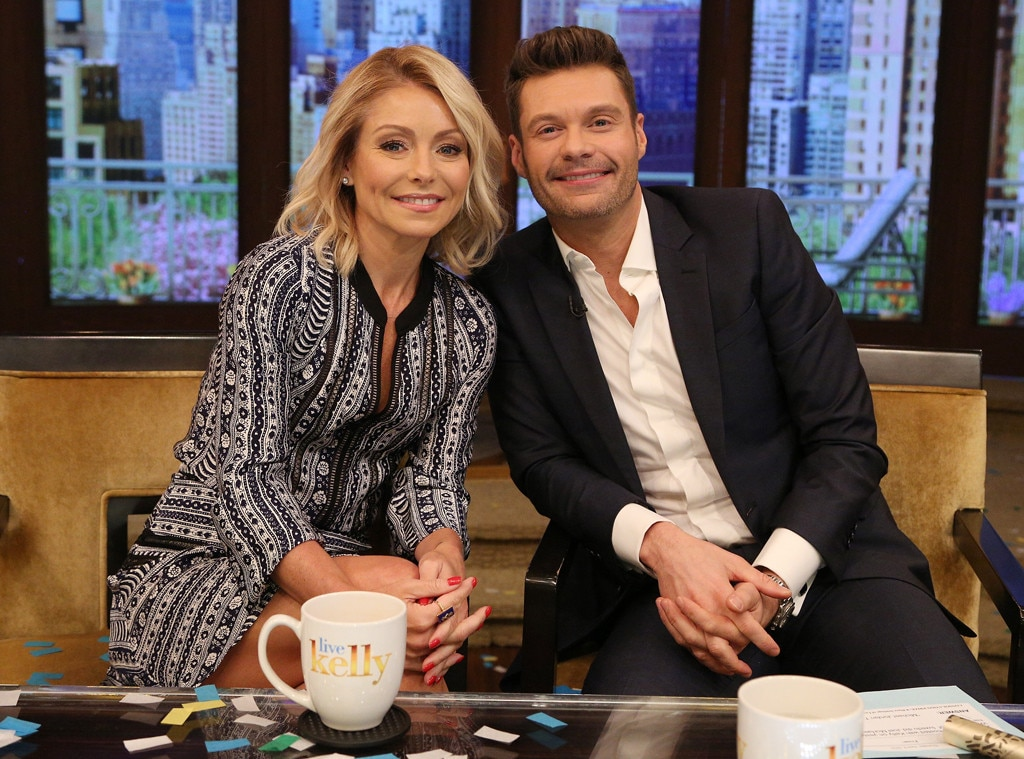 Kelly Ripa Talks Differences Between Ryan Seacrest and Former Co-Hosts Regis Philbin and Michael Strahan