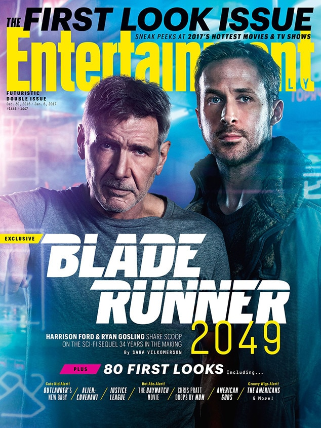 Ryan Gosling, Harrison Ford, Entertainment Weekly