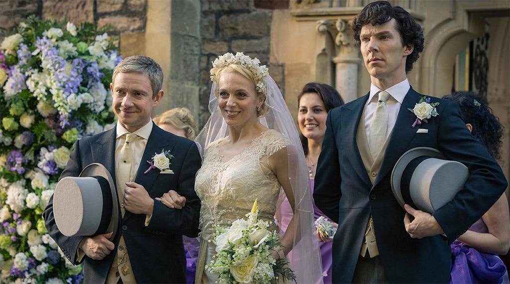 Sherlock, Martin Freeman, Amanda Abbington, Benedict Cumberbatch