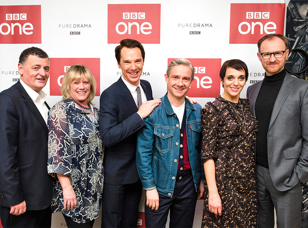 Steven Moffat, Sue Vertue, Benedict Cumberbatch, Martin Freeman, Amanda Abbington, Mark Gatiss