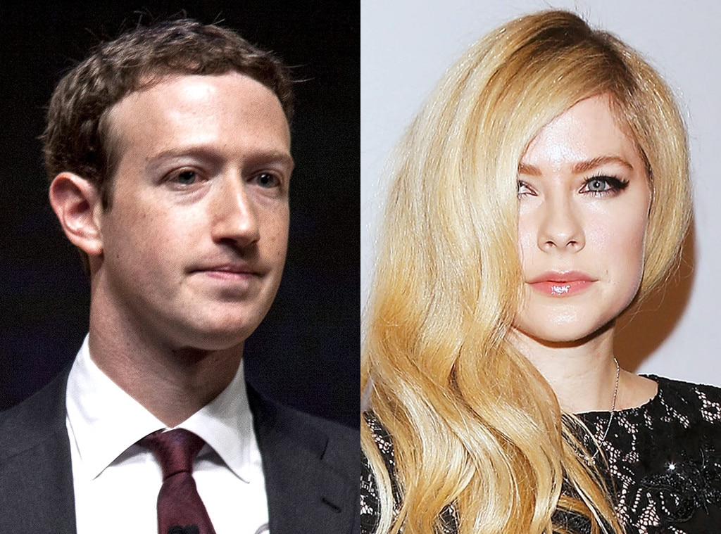 Avril Lavigne, Mark Zuckerberg